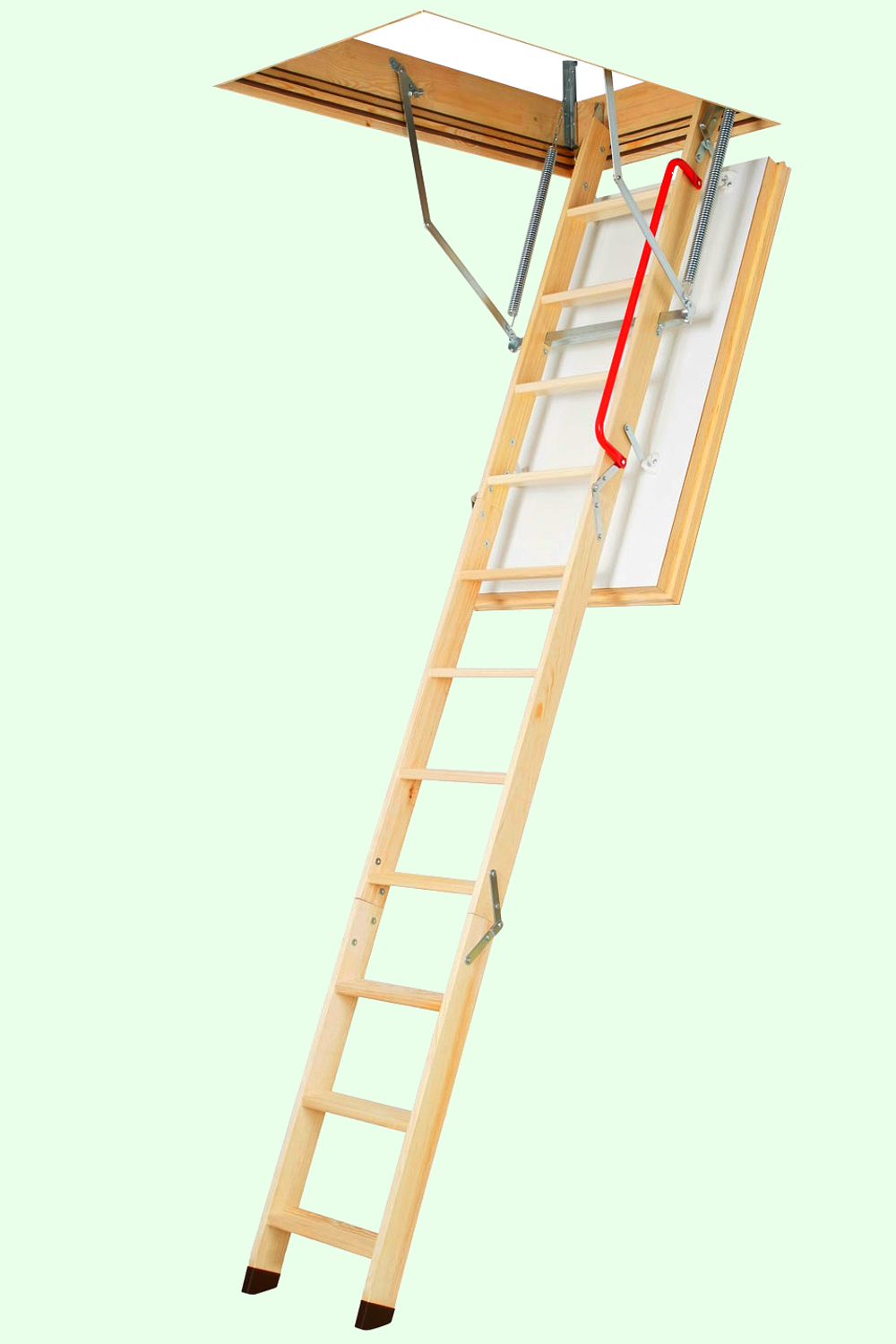 fakro wooden folding attic ladders