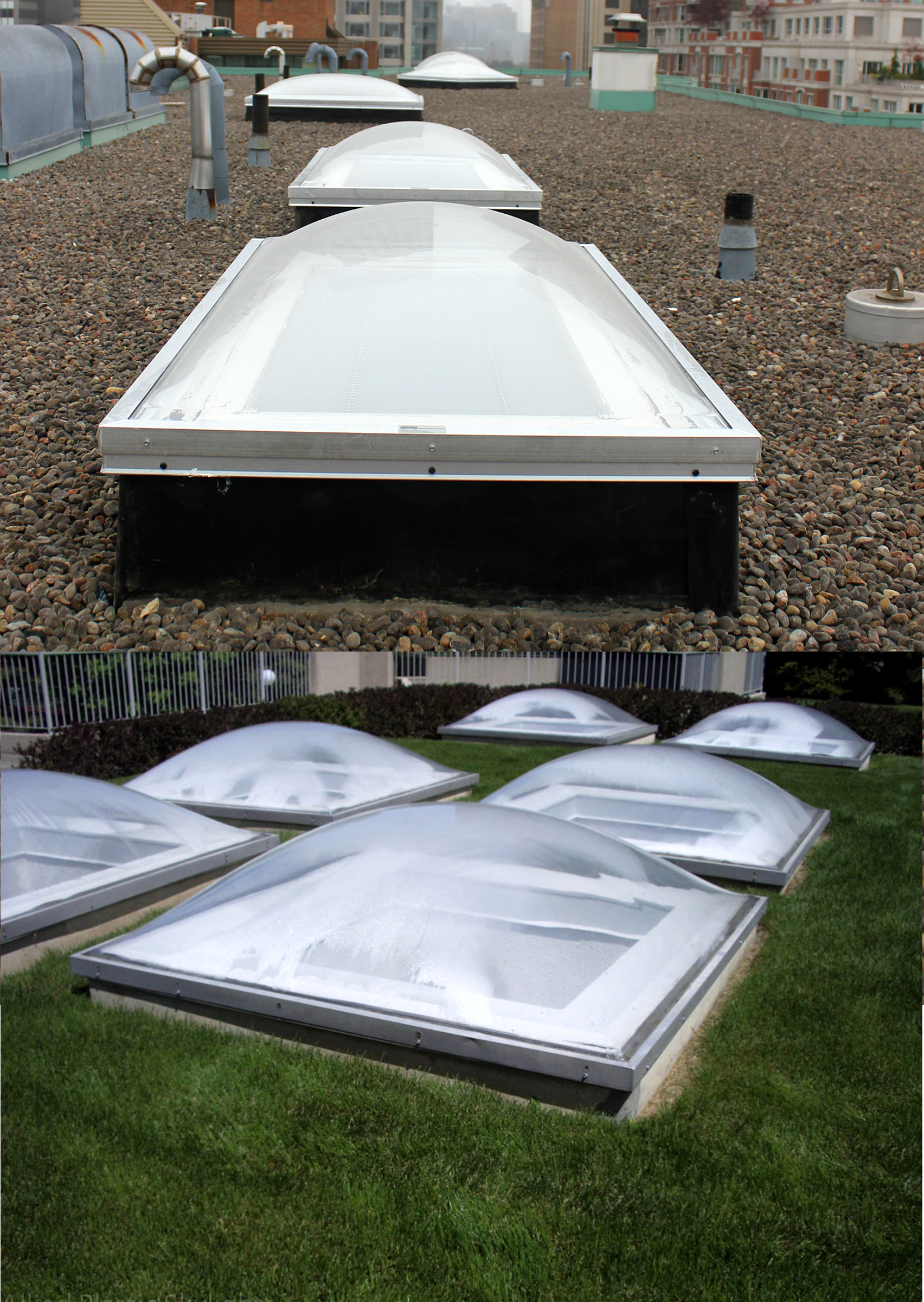 Commercial Acrylic Skylights