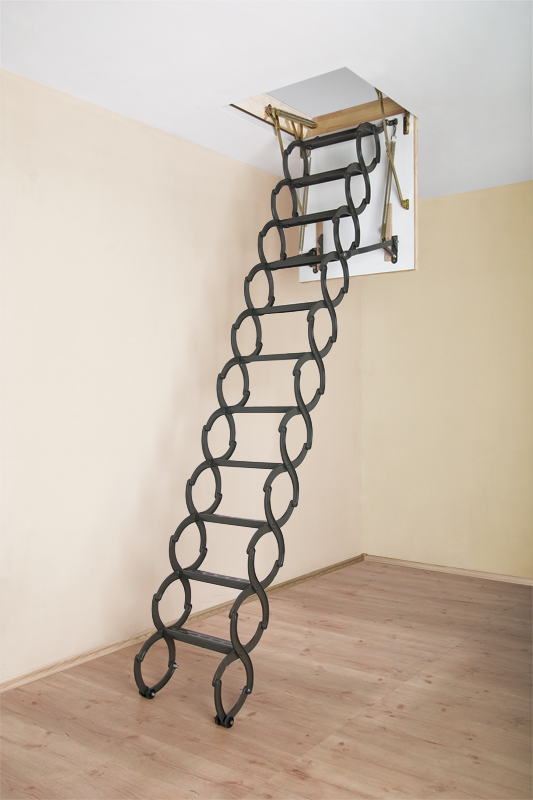 fakro metal scissors attic ladders