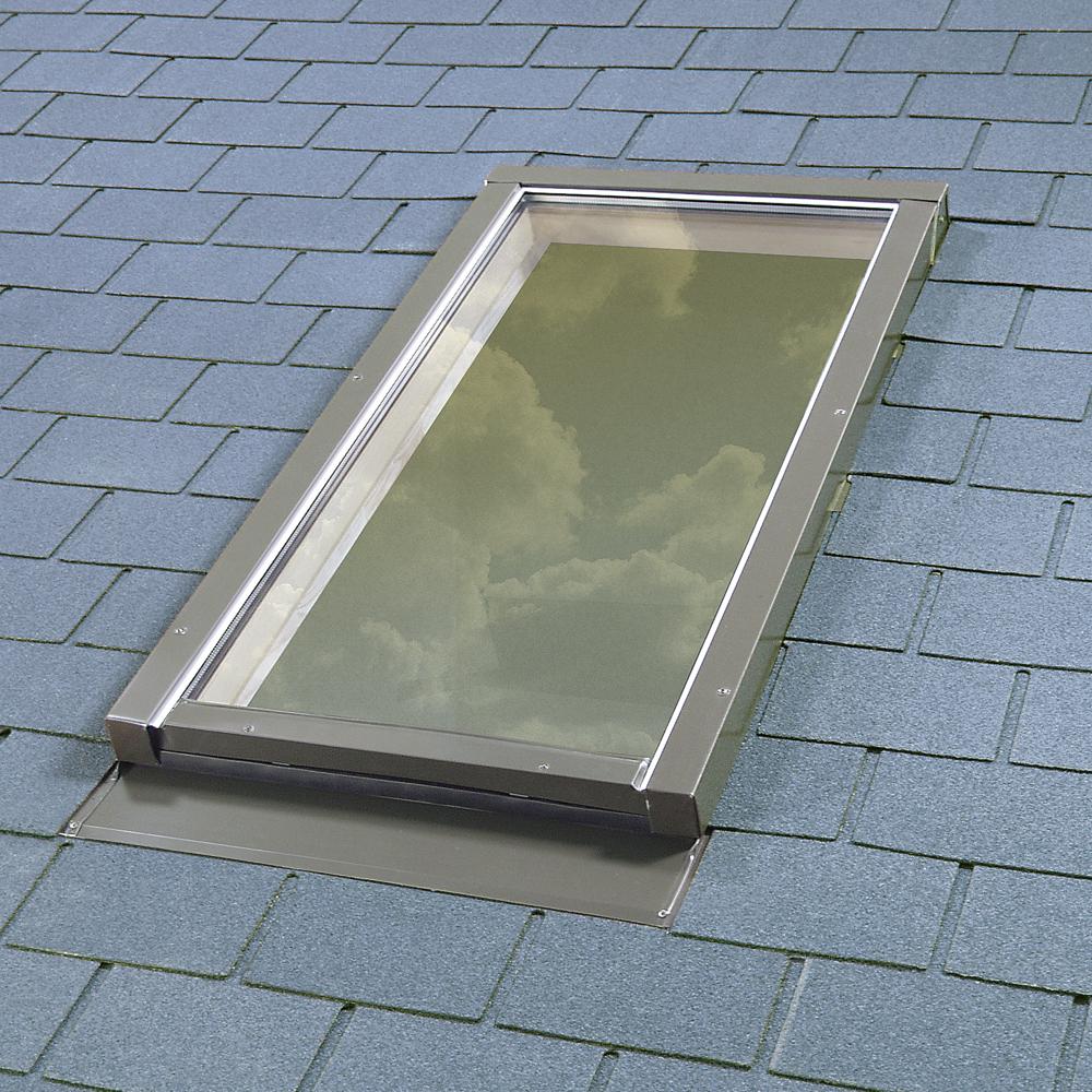Fakro deck mount fixed glass skylight FX