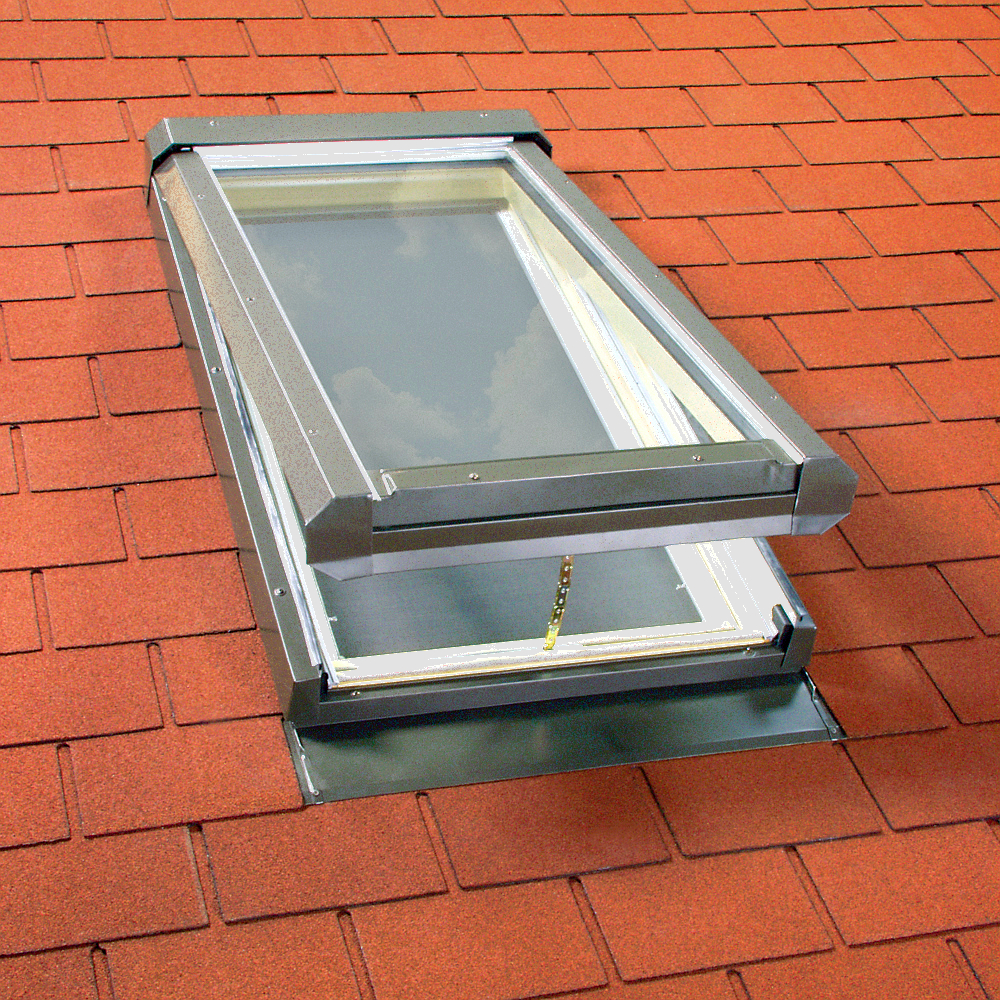 Manual Venting Glass Skylights FV