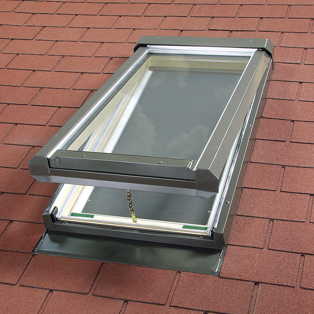 Electric Venting Glass Skylights