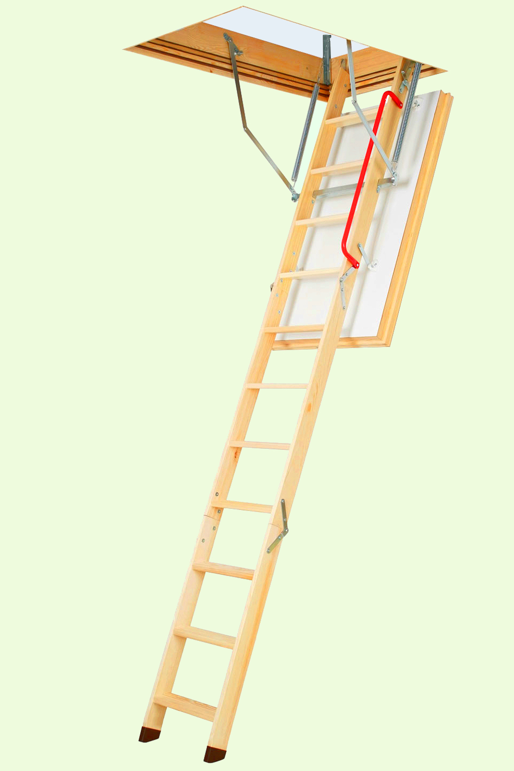 Wooden Folding Attic Ladder 2